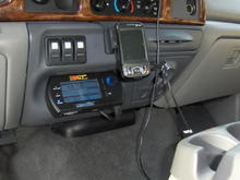 F650 Lower Dash Mod