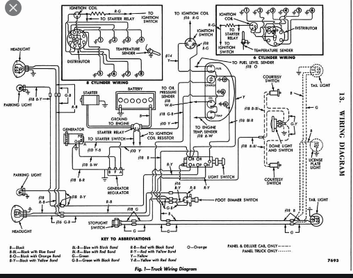 Wiring Diagram 1956 F100 - Ford Truck Enthusiasts Forums | Ford F100 Pick Up Wiring Diagrams |  | Ford Truck Enthusiasts