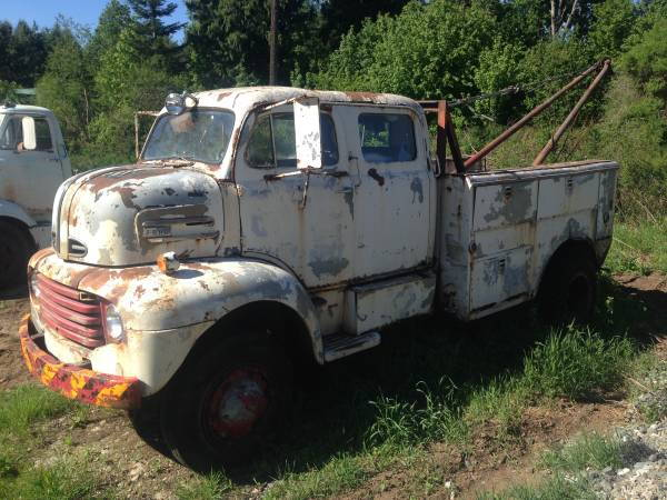 1949 ford f5 coe cabover 4x4 crewcab boom truck ford truck enthusiasts forums. Black Bedroom Furniture Sets. Home Design Ideas