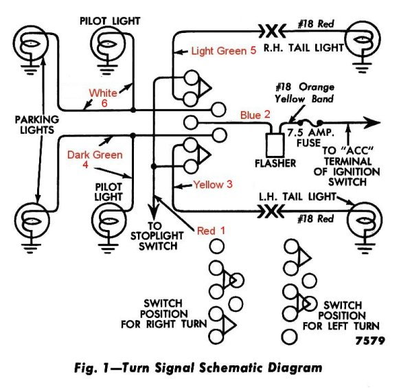 Turn Signal Wiring 54 F100 Page 2 Ford Truck Enthusiasts Forums