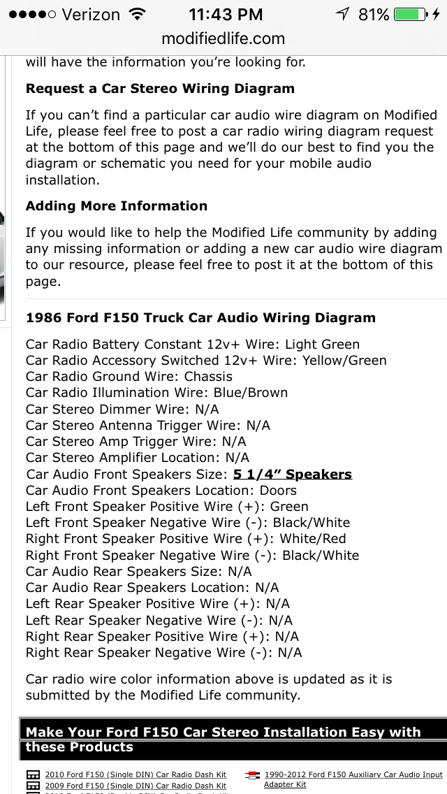 WIRING STEREO HELP!!! - Ford Truck Enthusiasts Forums on car stereo diagram, car radio installation, car starter diagram, car horn diagram, car relay diagram, car power window diagram, car brakes diagram, car radio circuit, car radio assembly, car fuse box diagram, car engine diagram, car radio plugs diagram, car battery diagram, car radio clock, car alternator diagram, car door diagram, car oil leak diagram, car amplifier diagram, car radio speaker, car electrical diagram,