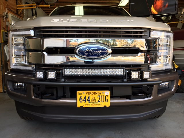 Bumper Light Bar Front Ford Truck Enthusiasts Forums