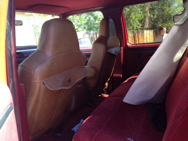 Swell King Ranch Seats In An Obs Ford Truck Enthusiasts Forums Evergreenethics Interior Chair Design Evergreenethicsorg