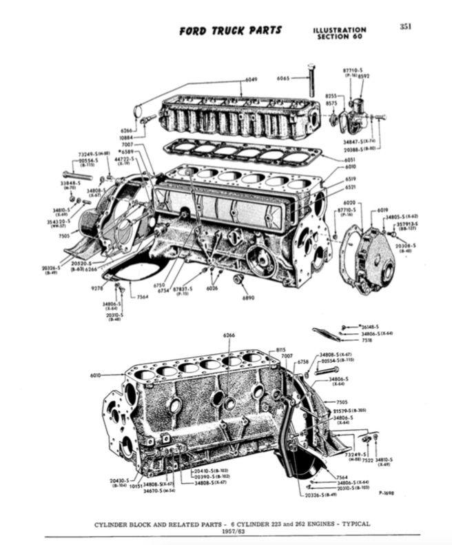 Motor Mount Brackets  1960 223 Help