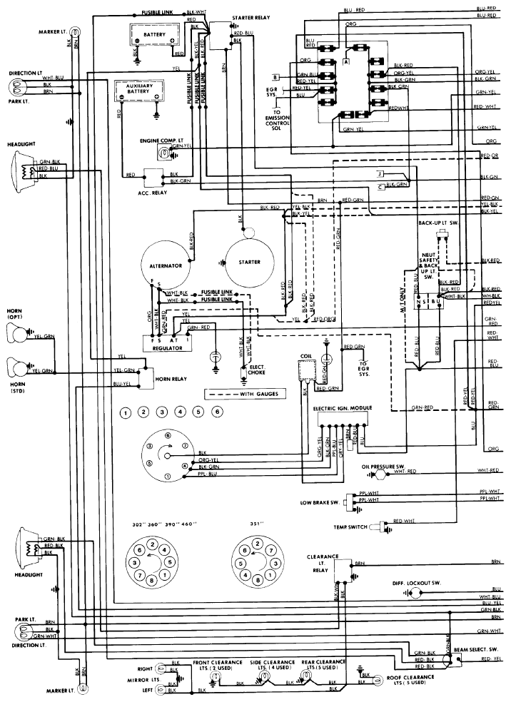 77 F100 Wiring Diagrams Needed