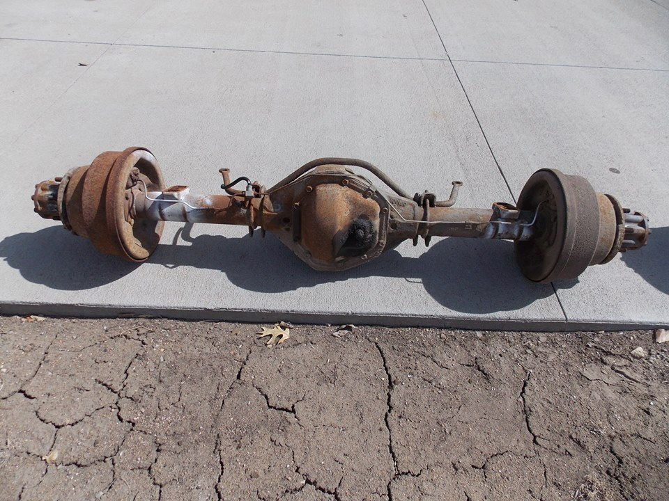 Ford Truck Axles : Ford truck front axles autos post