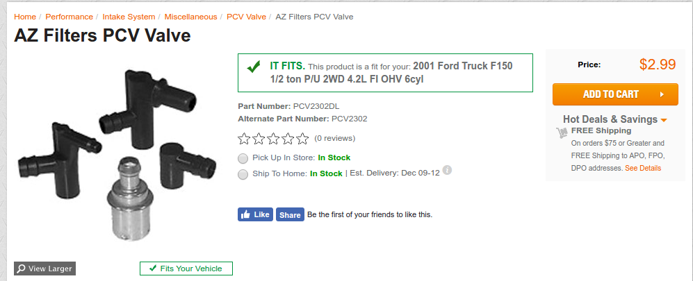 03 F150 4 2L V6 PCV Valve WITH PICTURES - Ford Truck Enthusiasts Forums