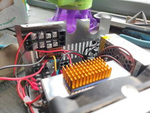 View of circuit board