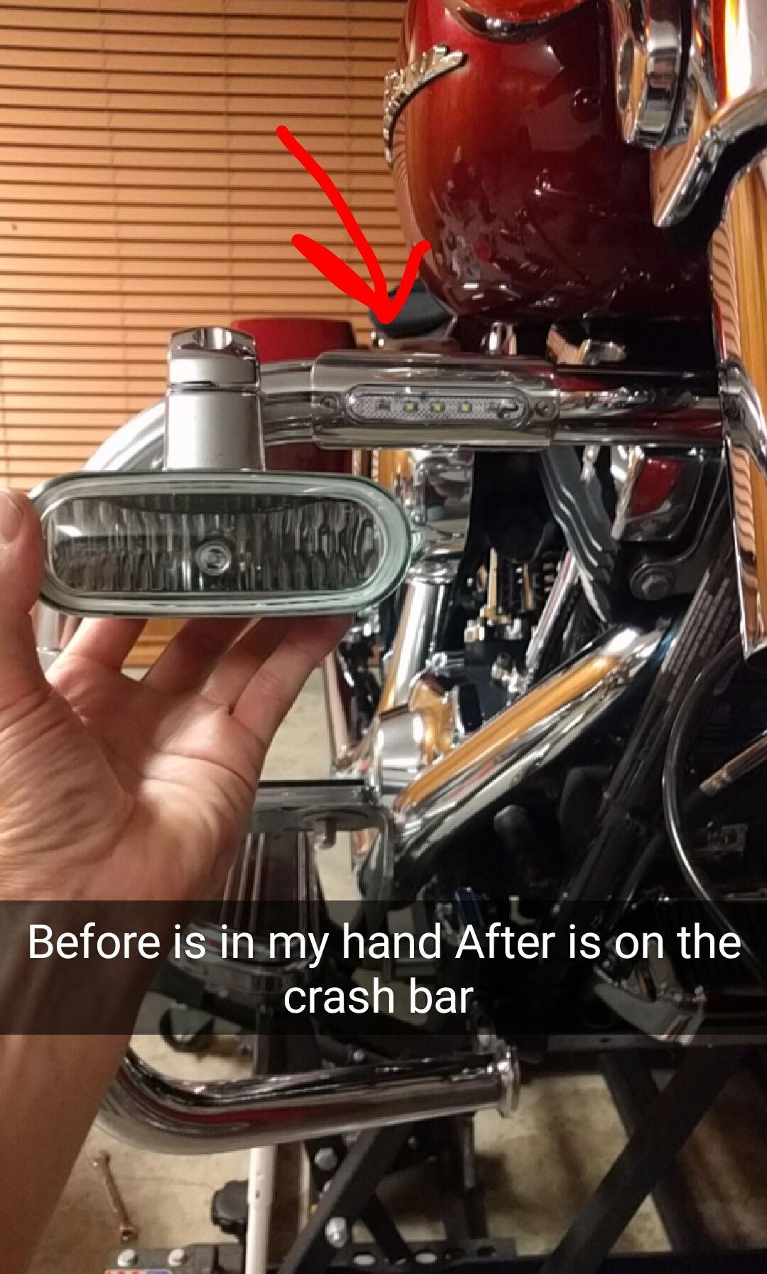 Driving Lights For My 2011 Street Glide Harley Davidson