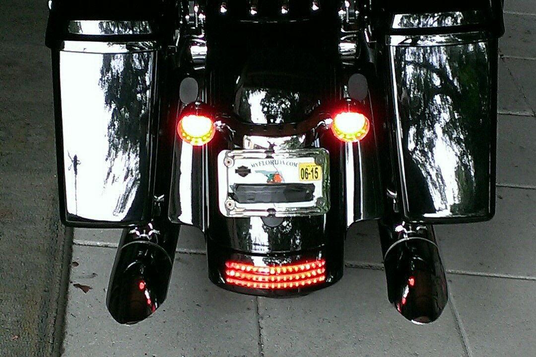 Custom Dynamics Sgs Tail Lights Unsafe Harley Davidson