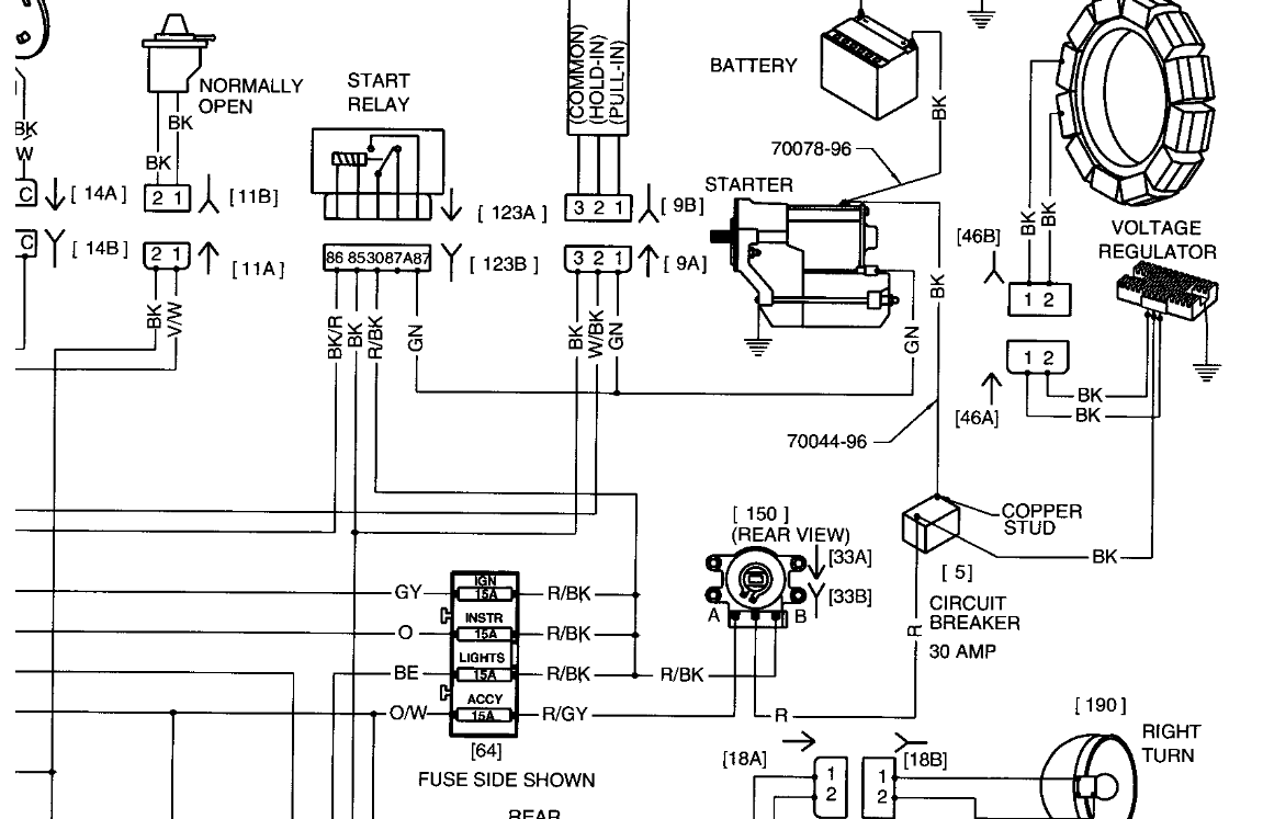harley softail wiring diagram 1998 u2022 wiring diagram for free 1997  Harley -Davidson Wiring Diagram 1997 Harley -Davidson Wiring Diagram