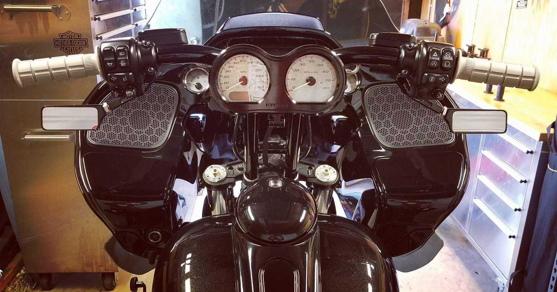 Riser and bar set up info on Road Glide - Harley Davidson Forums