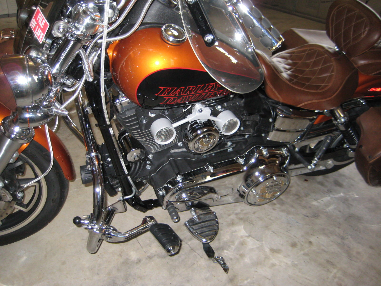 2014 Low Rider FXDL Ignition Switch Relocation - Page 2 - Harley ...