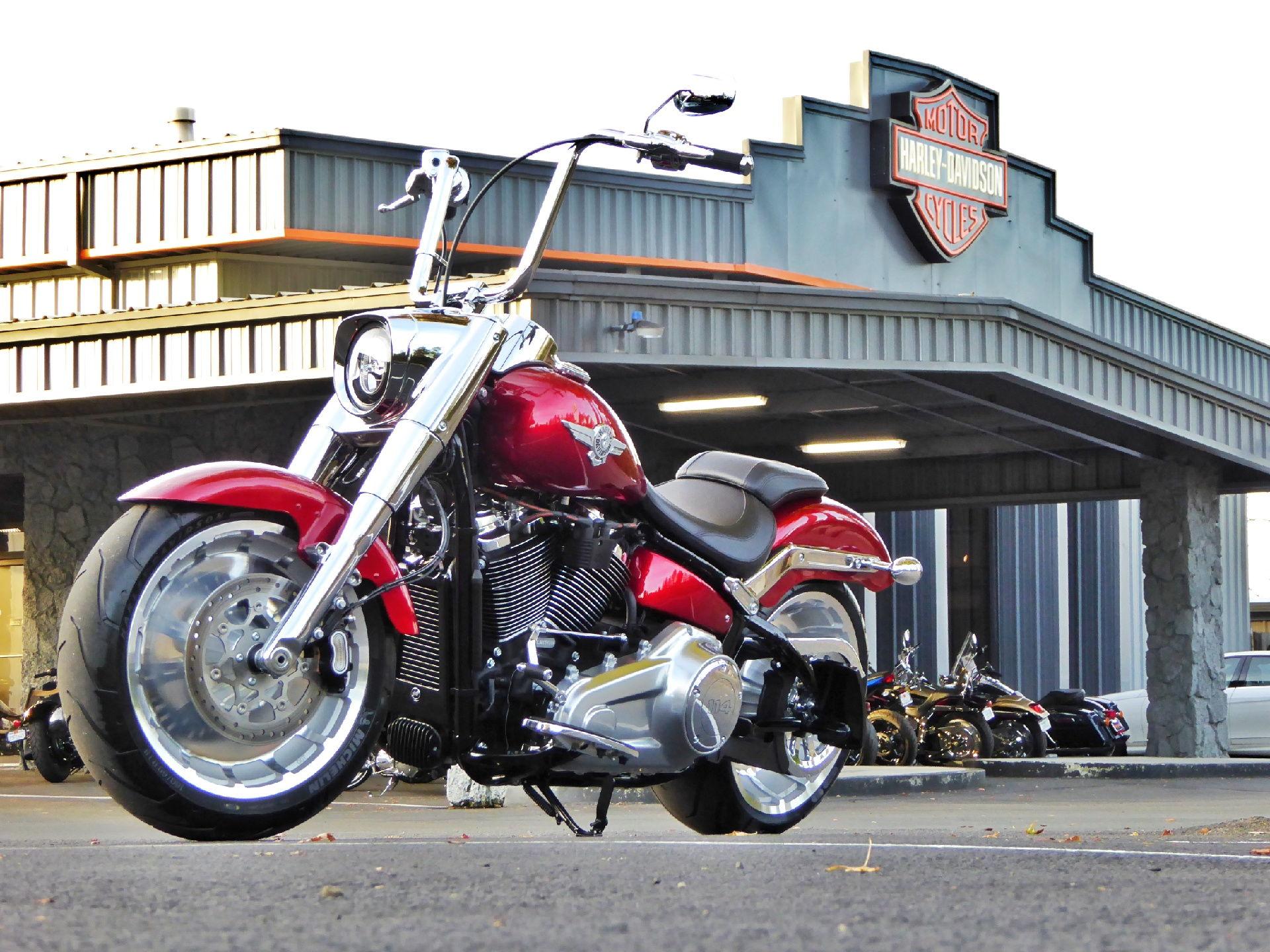 Forum Harley Davidson Fat Boy S