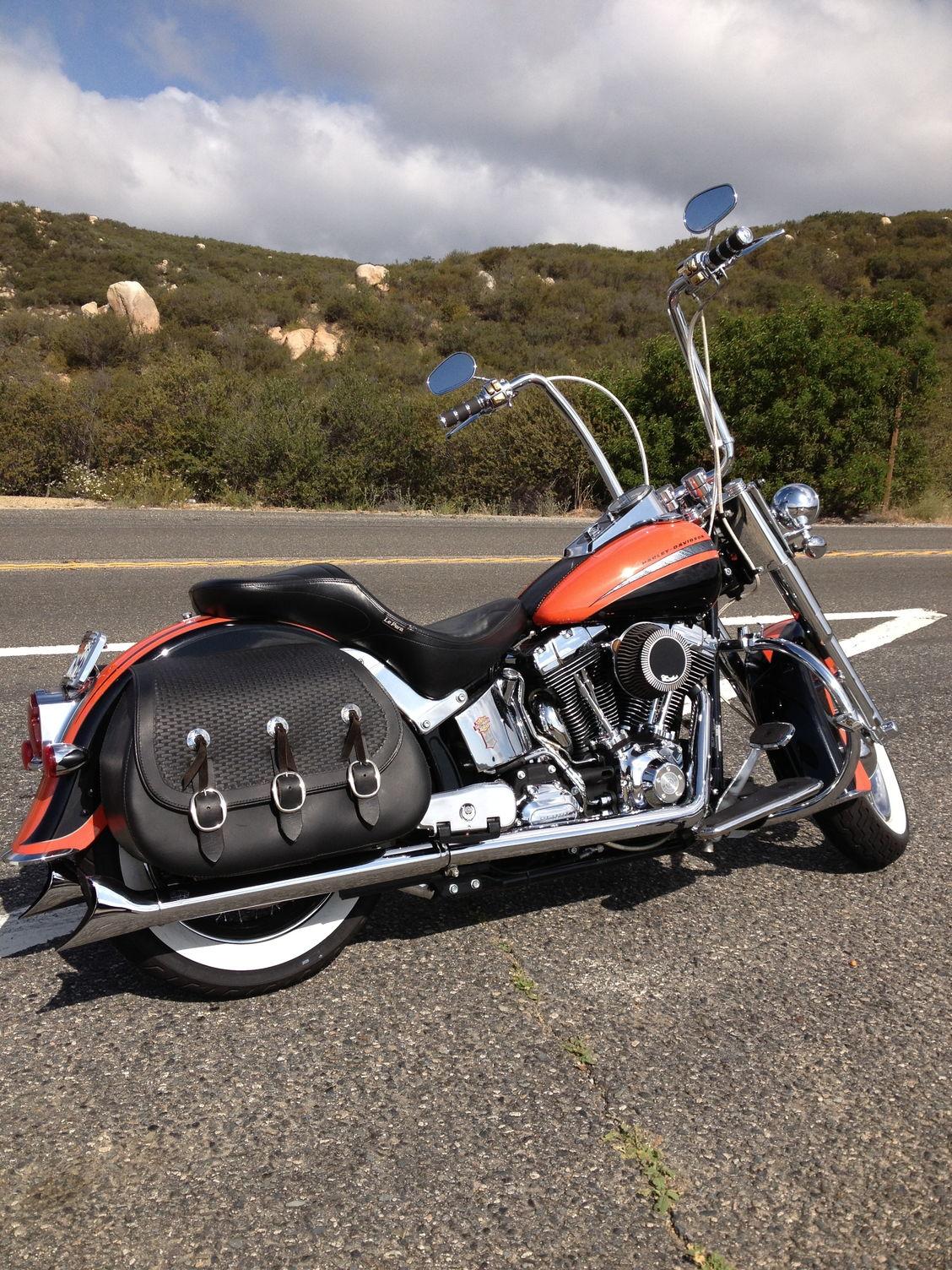 Harley Softails For Sale Ca >> Hog Deluxe Saddlebags - Harley Davidson Forums