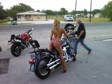 Some talent on my bike www.allamericanharleyparts.com