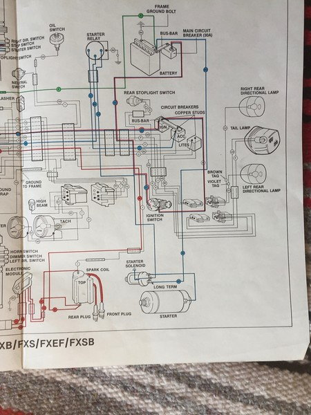 1981 FXS Lowrider - Wiring and Starting Help - Harley Davidson ForumsHarley Davidson Forums