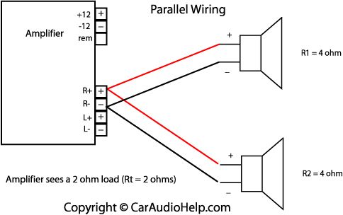 [DIAGRAM_5NL]  4 speakers on 2 channel amp - Harley Davidson Forums | 2 Channel Amp 4 Speakers Wiring Diagram |  | Harley Davidson Forums