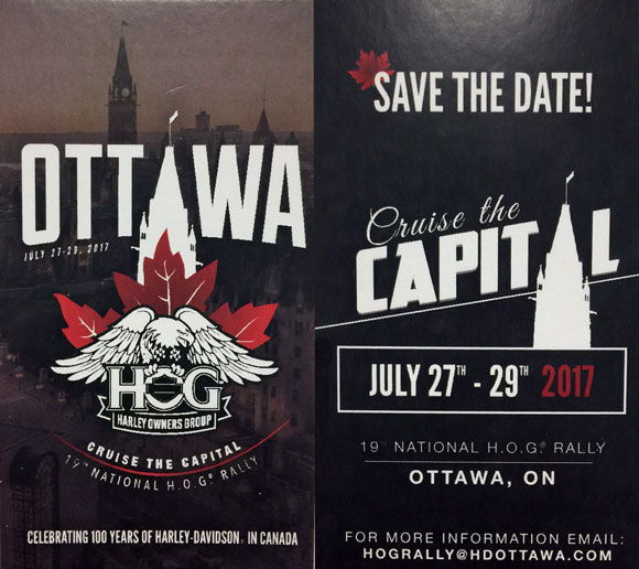 National Canadian Hog Rally Harley Davidson Forums - Us hog rallies 2017 map
