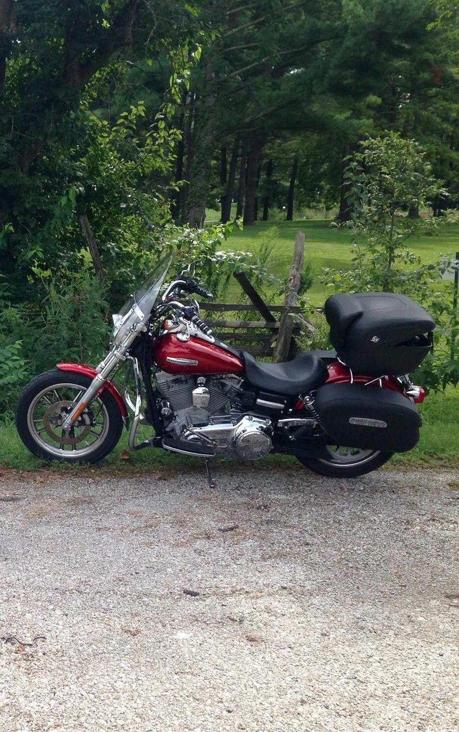 Harley Davidson Saddlebags: Looking For Saddlebags For Dyna Fat Bob