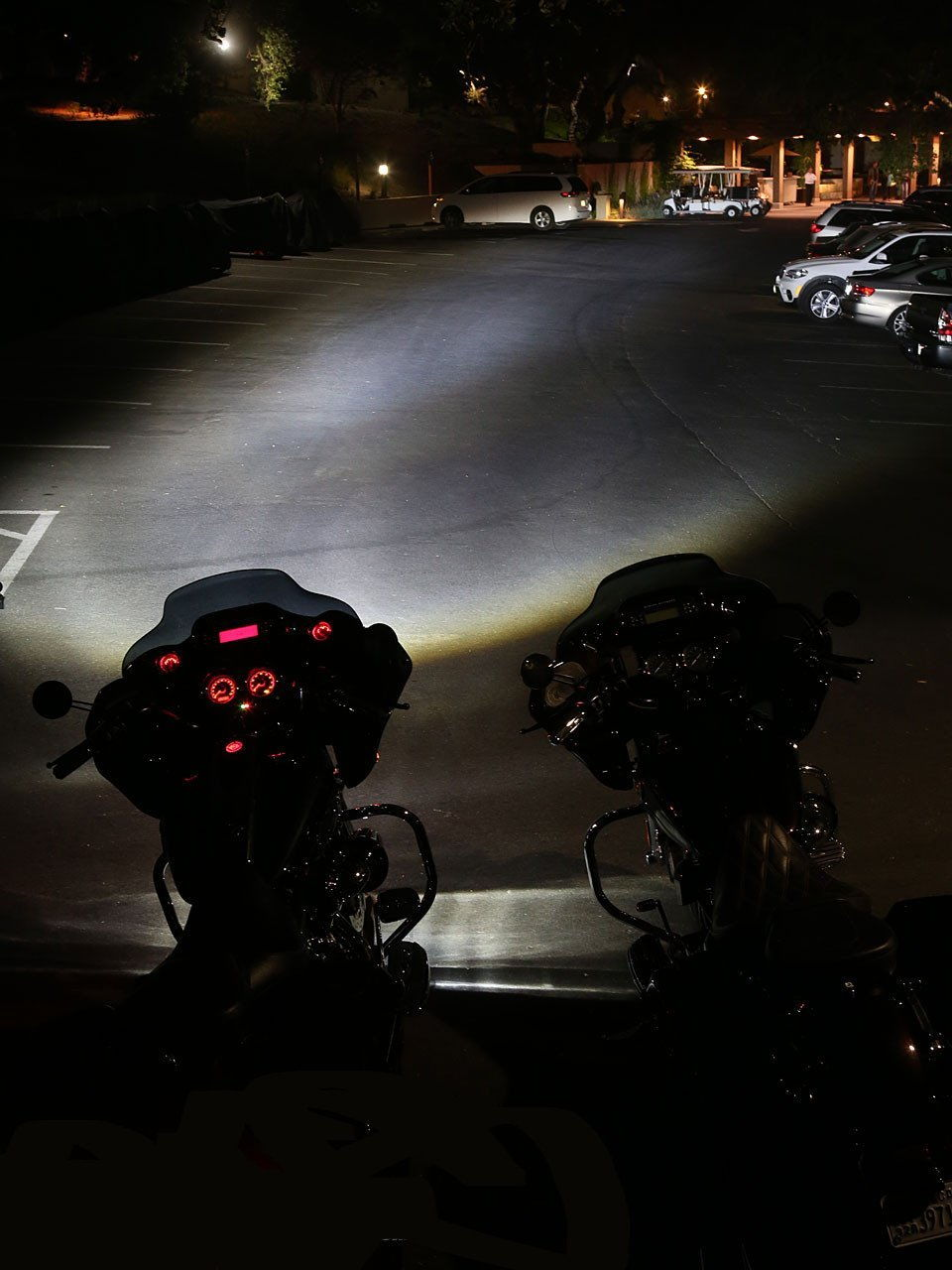 Chrome 7 Quot Led Daymaker Style Headlight Auxiliary Passing