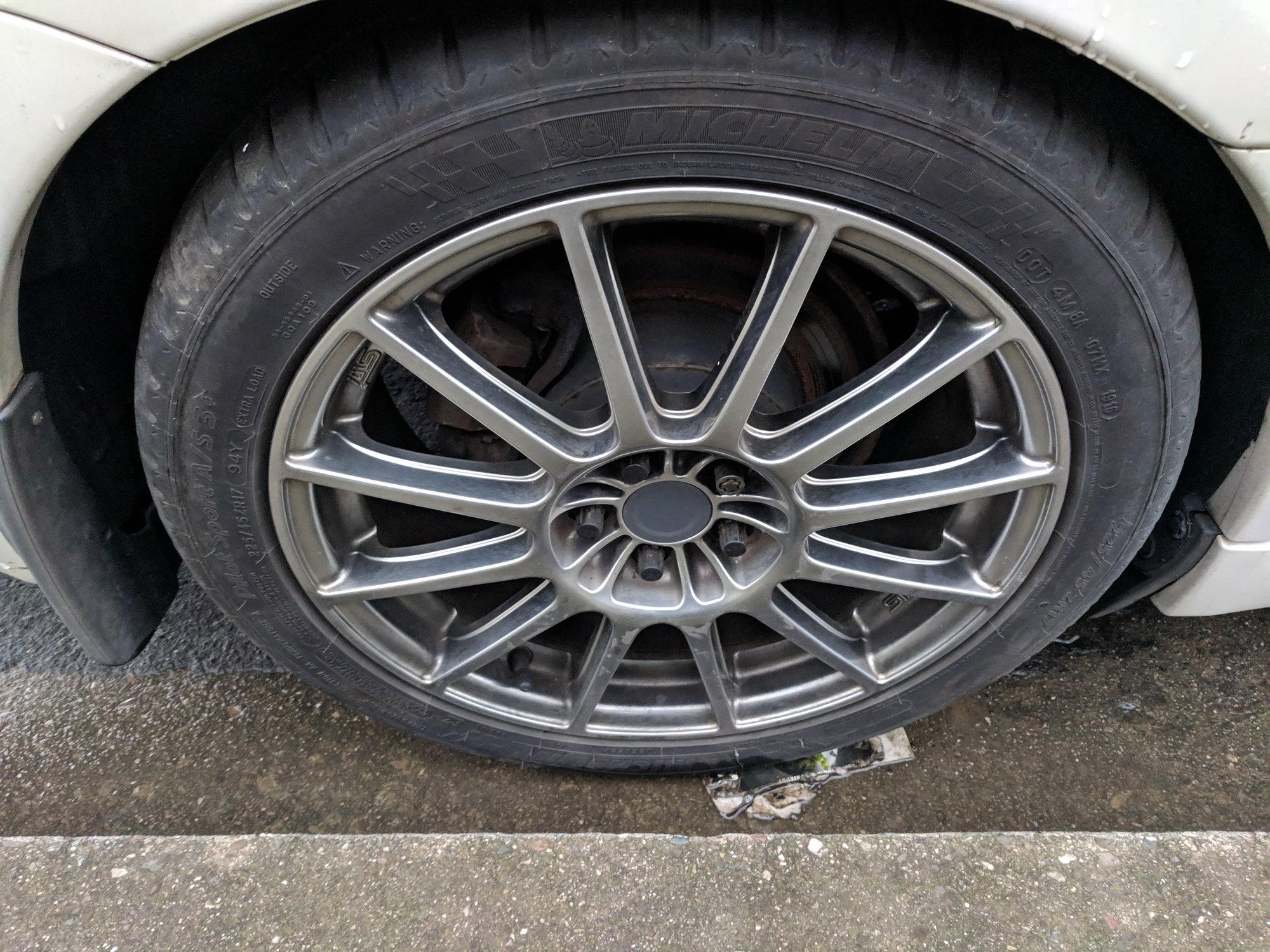Trade plus cash: 08 FXT Sport wheels w/ 225/45/17 Michelin Pilot