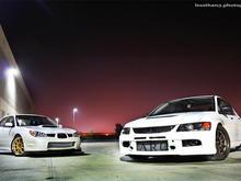 WRX and EVO 9