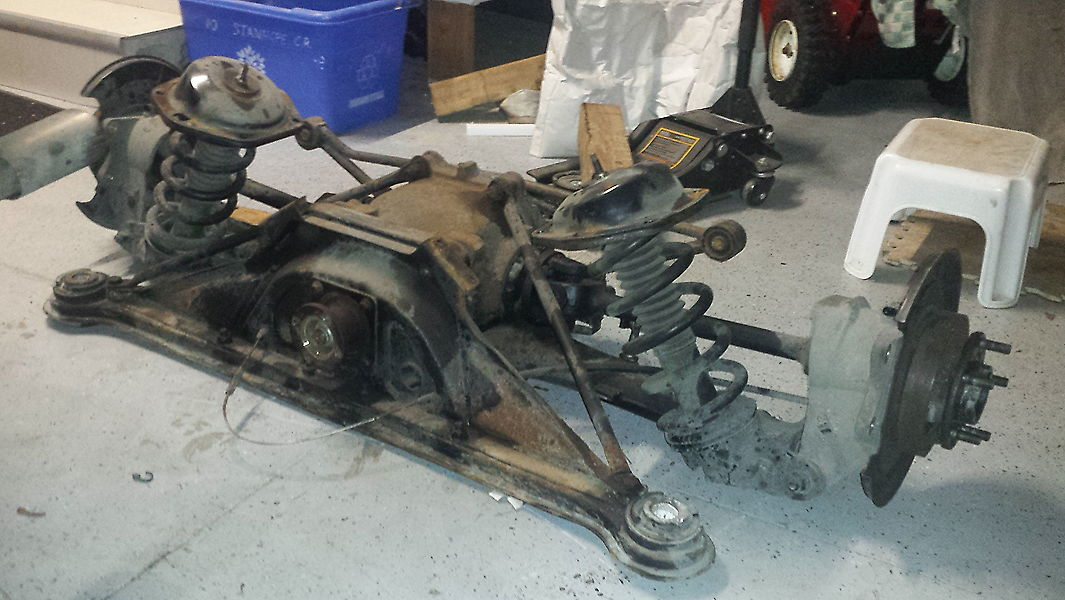 Used Cars London Ontario >> Big - Rear End Project has begun! - Jaguar Forums - Jaguar Enthusiasts Forum