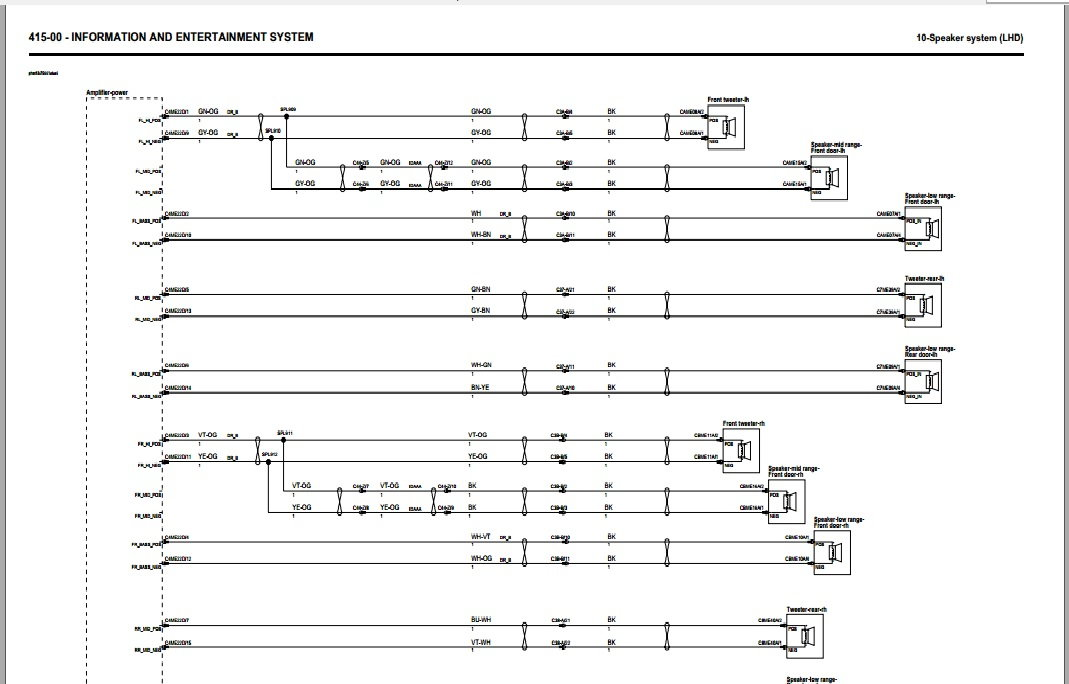 Meridian Surround Sound System 825w Retrofit