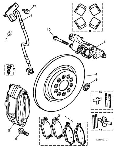 brake caliper bolts jaguar forums jaguar enthusiasts forum Bolt Movie DVD if the bolt you need is part 10 in the diagram below it is a m10 x 87mm screw no pitch is given but i d assume standard 1 5mm pitch