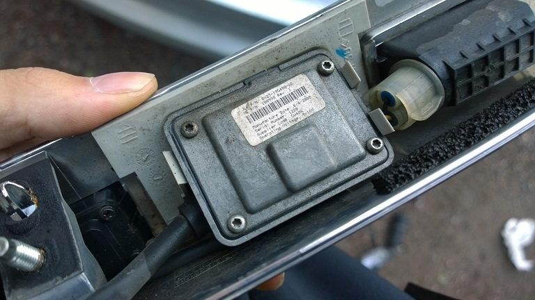 How to: fixing broken reverse camera - Jaguar Forums - Jaguar