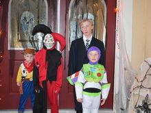 My boys Halloween 2015