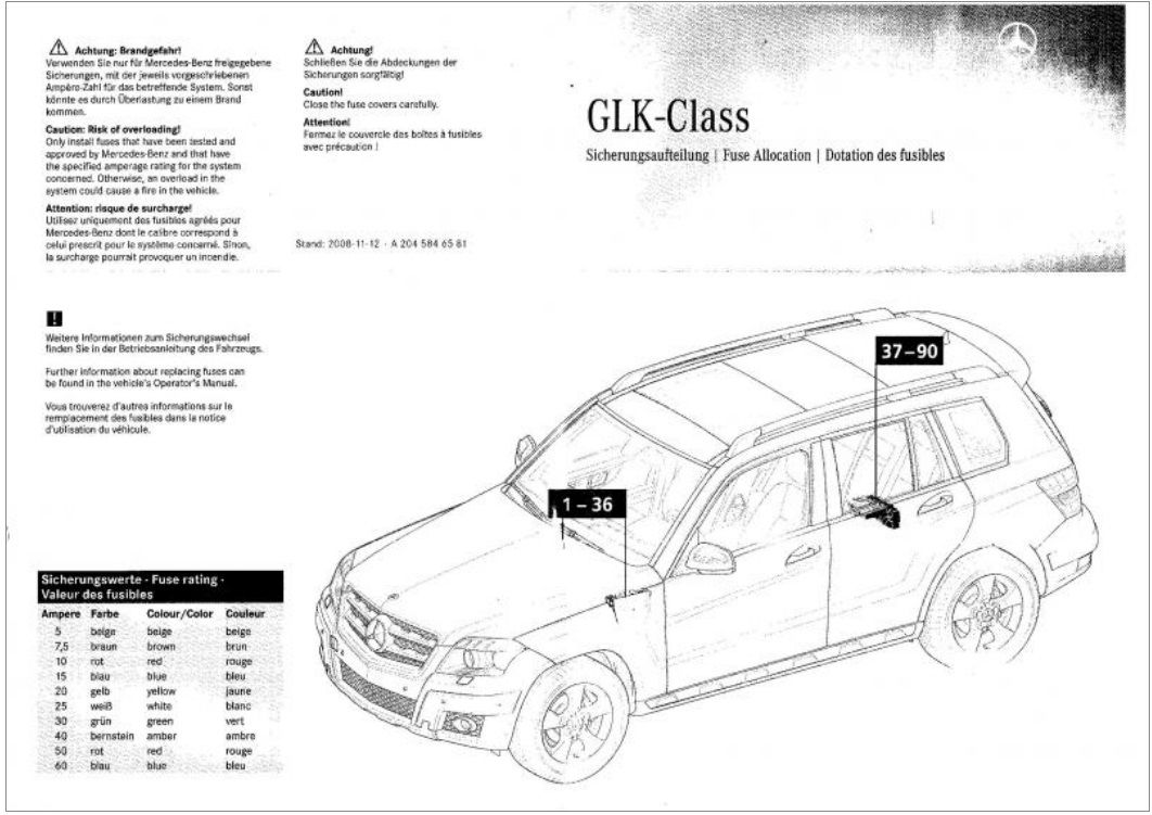 glk350 2012 cigerette lighter jammed  need to know where