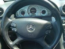 CLK63 Steering wheel & European Speedometer