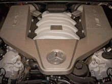 2007 E63 AMG Pure Powerplant