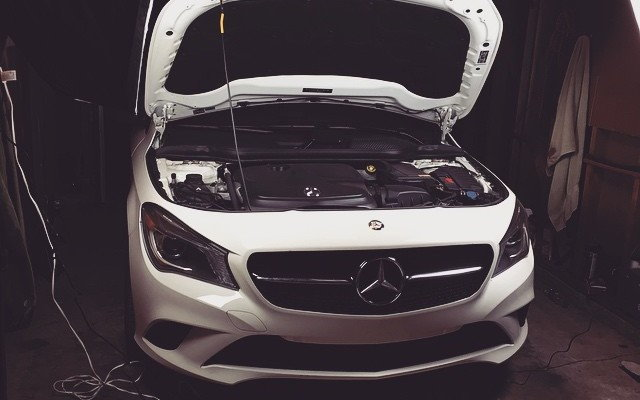 Mercedes CLA250 Puts Down an Extra 42HP with 5 Minutes of