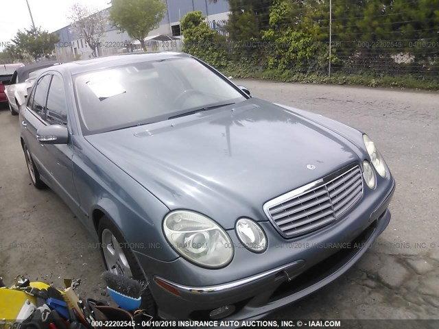 2005 Mercedes Benz E500 Complete Part Out ...