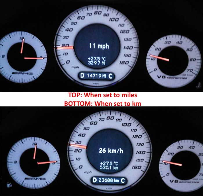 Digital Speedometer problem - MBWorld org Forums