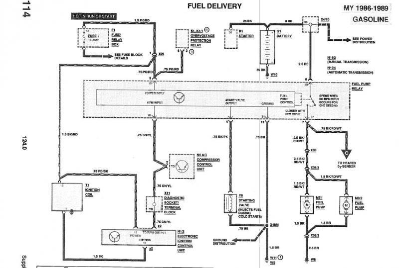572523 2 6 L M103 940 I6 Starting Idling Problem on wiring diagram for mercedes benz w124