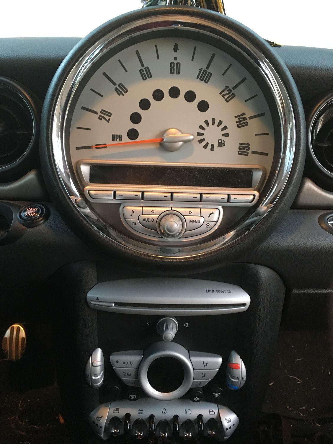 2009 mini cooper s convertible r57 aftermarket nav audio. Black Bedroom Furniture Sets. Home Design Ideas
