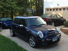 2006 Space Blue/Silver roof JCW - loaded - 39K miles