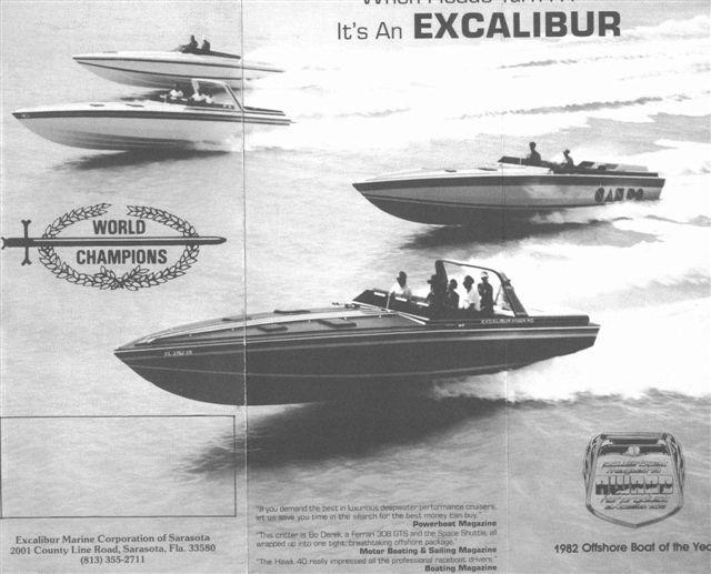 Black Excalibur Hawk 40 Found