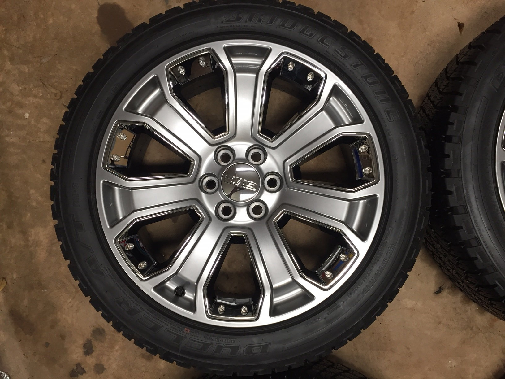 "Used Yukon Denali >> 2017 Denali Ultimate 22"" Wheels & Tires - PerformanceTrucks.net Forums"