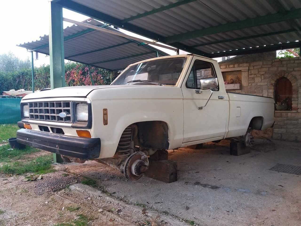 To represent my ford ranger 2 2 dizel engine produced 1983 ranger needs some love after long standing time and i need a transmission for his engine