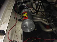 can and vacuum pump