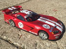 Decal set by Skunkworks Designs applied to HPI Viper