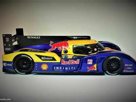 Speed Passion LM-1 Red Bull Carbon prototype