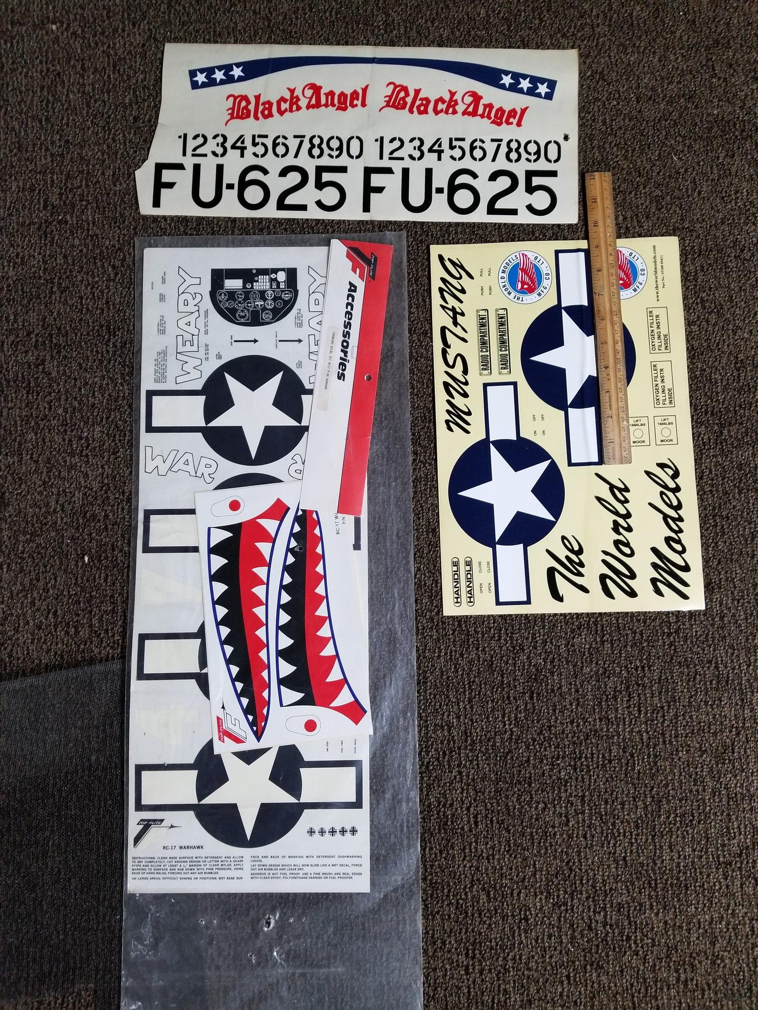 P40 Flying Tiger decals - RCU Forums