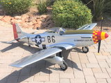 "For Sale | Hanger 9, P-51D Mustang 60cc size 89"" Wingspan"
