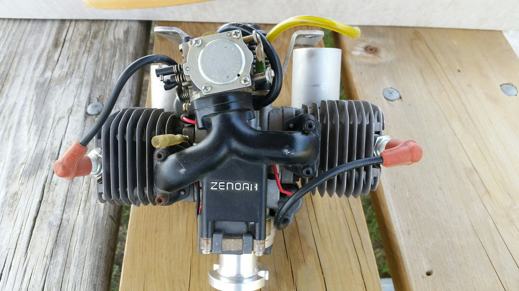 Zenoah G800BPU 80cc Twin Gas RC Airplane Engine - Excellent